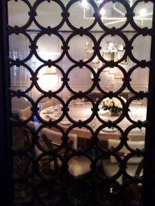 Special dining room at the Gordon Ramsay at The London